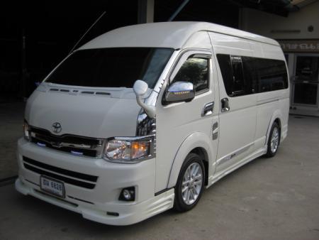Export Used Cars Toyota Hiace 2500 Mt 2013 Rhd